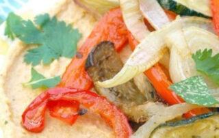 recept wrap hummus